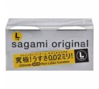 Презервативы Sagami Original L-size увеличенного размера - 12 шт.