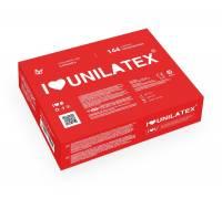 Презервативы Unilatex Strawberry с клубничным ароматом - 1 блок (144 шт.)