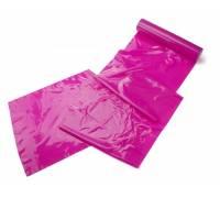 Розовая широкая лента для тела Body Bondage Tape - 20 м.