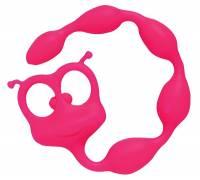 Розовый анальный стимулятор Flexy Felix