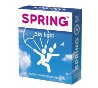 Ультратонкие презервативы SPRING SKY LIGHT - 3 шт.