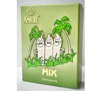 """Микс-набор презервативов AMOR Mix """"Яркая линия"""" - 3 шт"""