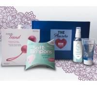 Набор для тренировки интимных мышц The Pleasure Box с розовыми вагинальными шариками