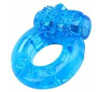 Голубое эрекционное виброкольцо