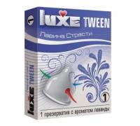 """Презерватив Luxe Tween """"Лавина страсти"""" с ароматом лаванды - 1 шт."""