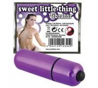 Фиолетовая вибропуля Sweet Little Thing - 7 см.