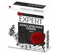 """Гладкие презервативы Expert """"Классическая опера"""" - 3 шт."""