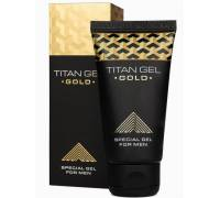 Гель для увеличения члена Titan Gel Gold Tantra - 50 мл.