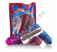 Вибропуля фиолетовая Bullets BUL-101PU