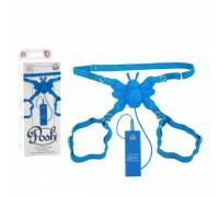 Вибро-бабочка Posh 10-Function Silicone Butterfly Blue 0601-80BXSE