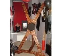 Разборный Андреевский крест из дерева