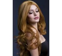 Рыжеватый парик с длинными завитыми волосами Rhianne