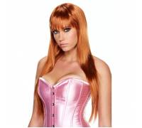 Рыжий парик с длинной градуированной прической Scarlet Lavish
