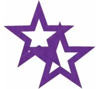Фиолетовые пестисы-звёзды
