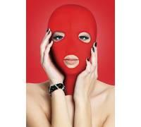 Красная маска на лицо с вырезами Subversion