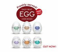 Набор из 6 мастурбаторов Tenga EGG Regular Strength с различным рельефом