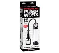Черная мужская помпа Accu-Meter Power Pump
