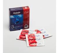 Особо увлажнённые презервативы Sitabella Light с возбуждающим эффектом - 3 шт.