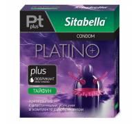 Презерватив Sitabella Platino plus Тайфун - 1 шт.