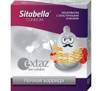 Презерватив Sitabella Extaz Ночная коррида - 1 шт.